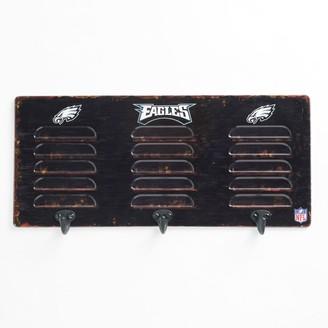 Philadelphia Eagles Locker Coat Rack