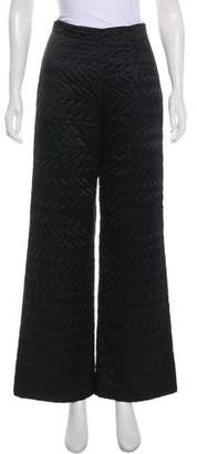 Fendi High-Rise Quilted Pants