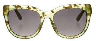 Jimmy Choo Tinted Round Sunglasses
