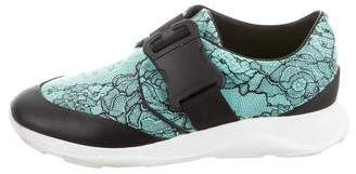 Christopher Kane Floral Low-Top Sneakers