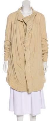 Rick Owens Corduroy Knee-Length Coat