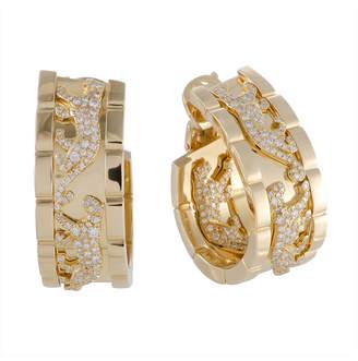 Cartier Heritage  18K 2.00 Ct. Tw. Diamond Drop Panther Earrings