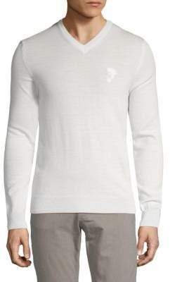 Versace Logo Wool Sweater