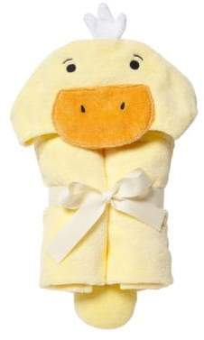 Elegant Baby Duck Hooded Bath Wrap