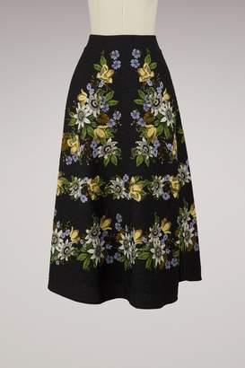 Erdem Tiana long skirt