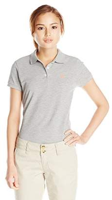 U.S. Polo Assn. Women's Solid Pique Polo