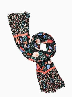 Kate Spade Blossom silk oblong scarf