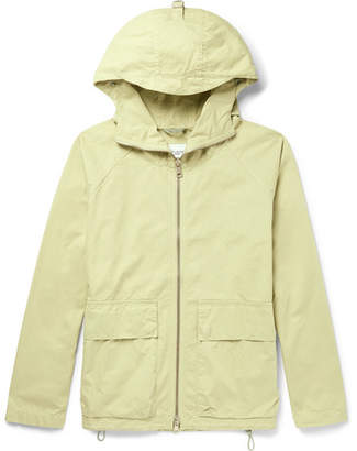 Albam Garment-Dyed Cotton-Twill Hooded Parka