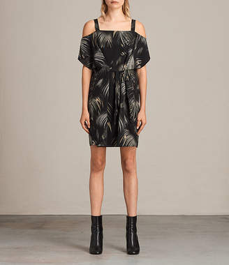 AllSaints Rae Neluwa Silk Dress