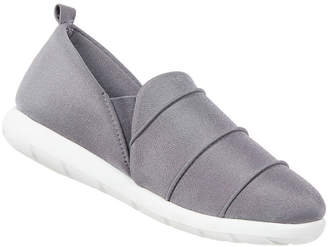 ZENZ FROM ISOTONER Zenz From Isotoner Pintuck Closed Back Slip-On Slippers