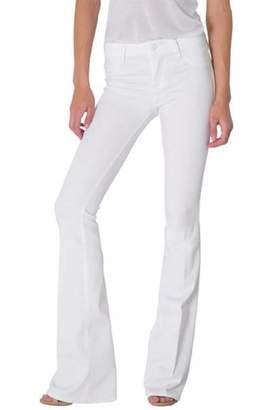 Fidelity White Flare Jean