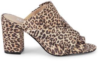 RENVY Block Heel Slip-On Sandals