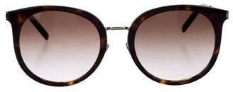 Saint Laurent Oversize Cat-Eye Sunglasses