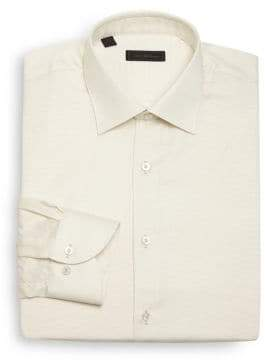 Saks Fifth Avenue COLLECTION Regular-Fit Cotton Dress Shirt