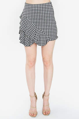 Sugar Lips Shirley Gingham Skirt