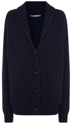 Stella McCartney Shawl Collar Cashmere Cardigan