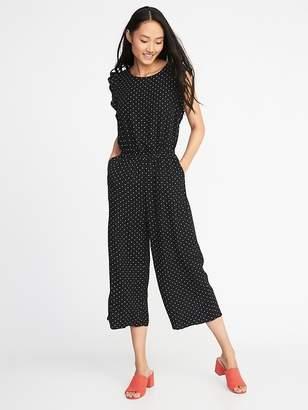 Old Navy Waist-Defined Sleeveless Jumpsuit for Women