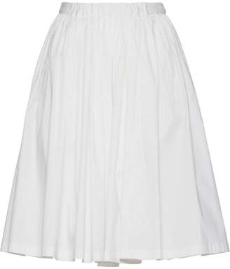 Prada Stretch cotton circle skirt