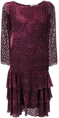 Blumarine dotted party dress