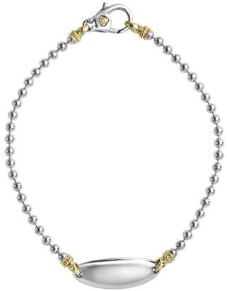 Lagos Beloved Oval Plate Bracelet
