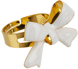 Lacquered Bow Ring