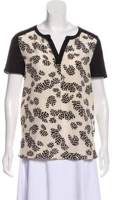 Marc by Marc Jacobs Silk Printed Top