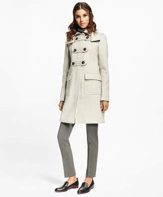 Brooks Brothers Petite Wool-Cashmere Duffle Coat