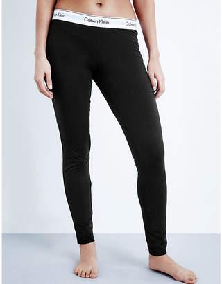 Calvin Klein Modern cotton-jersey pyjama bottoms