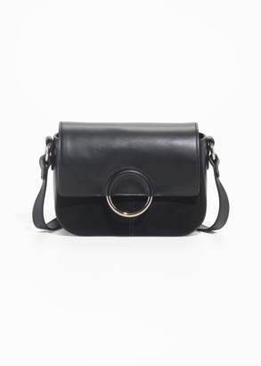And other stories Exposed Ring Leather Bag