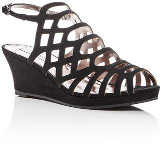 a4759d9f806e Steve Madden Girls  Jslithr Caged Wedge Sandals - Little Kid