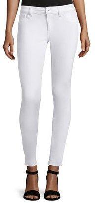 DL1961 Premium Denim Emma Power Legging Jeans, Porcelain $178 thestylecure.com