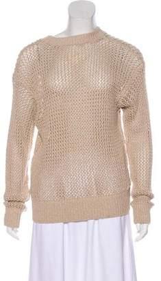 Current/Elliott Loose Knit Crew Neck Sweater