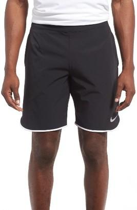 Men's Nike Flex Ace Tennis Shorts $60 thestylecure.com