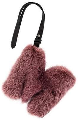 J. Mendel Mink Bag Charm