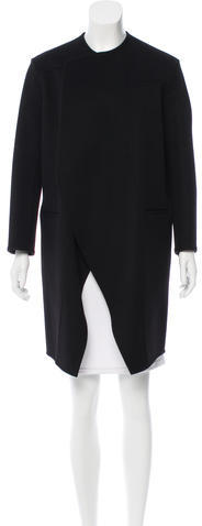 CelineCéline Cashmere Knee-Length Coat
