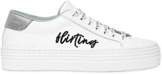 Chiara Ferragni 40mm Flirting Leather Sneakers
