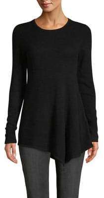 Lord & Taylor Asymmetrical Cashmere Sweater