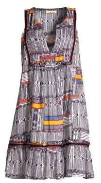 Lemlem Kente Bib Dress