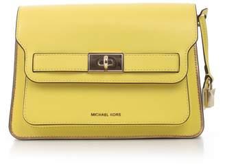 9222186e63d3ad MICHAEL Michael Kors Flip Lock Shoulder Bag