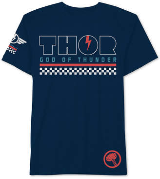 Hybrid Men Thor God Of Thunder Graphic T-Shirt