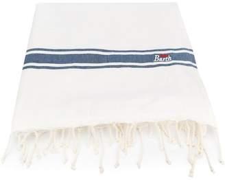 MC2 Saint Barth Kids stripe beach towel