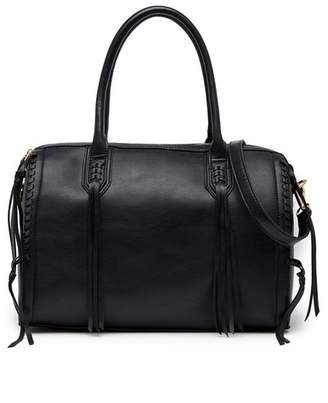 Urban Expressions Baxter Whipstitched Vegan Leather Satchel