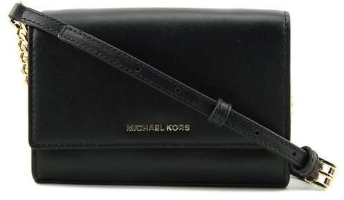Michael Kors Michael Ruby Medium Clutch Womens Handbag - BLACK - STYLE