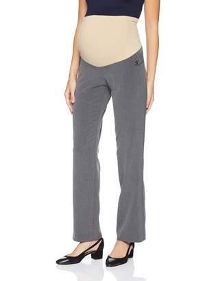 2c8463482290b Motherhood Maternity Women's Maternity Bi-Stretch Secret Fit Belly Straight  Leg Pant