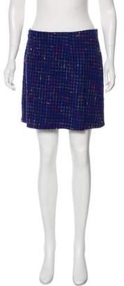 Versace Bouclé Mini Skirt