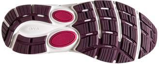 Brooks Women's Dyad 10 2E Running Shoe (BRK-120275 2E 4078780 8.5 PUR/PNK/Gry)