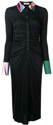 Emilio Pucci fitted midi dress