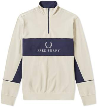 Fred Perry Authentic Half Zip Sweat