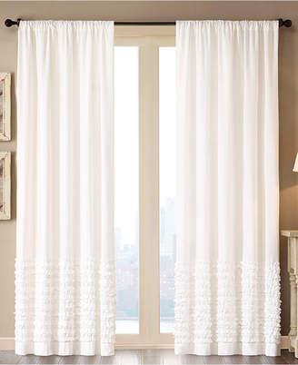 "Madison Park Bessie Cotton 50"" x 63"" Horizontal Ruffle Window Panel"