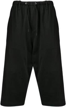 McQ side stripe track shorts